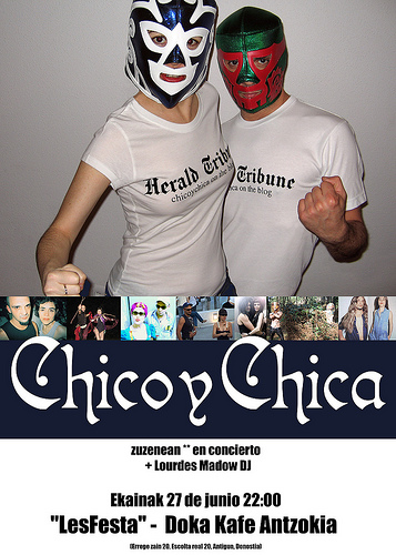 Chico y chica @ Doka, poster