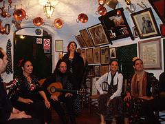 Cuadro flamenco de la cueva María la canastera